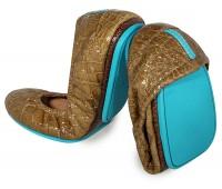 Sienna Brown Croc